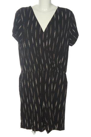 H&M Basic Jumpsuit schwarz-weiß Casual-Look
