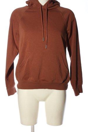 H&M Basic Kapuzensweatshirt braun Casual-Look