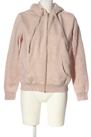 H&M Basic Kapuzensweatshirt creme meliert Casual-Look