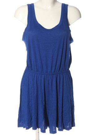 H&M Basic Kurzer Jumpsuit blau Casual-Look