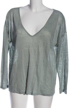 H&M Basic Langarm-Bluse