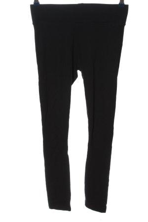 H&M Basic Leggings schwarz Casual-Look