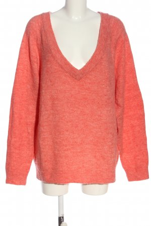 H&M Basic Longpullover pink Casual-Look