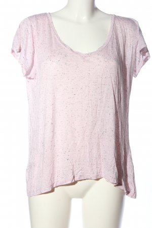 H&M Basic Oversized shirt roze gestippeld casual uitstraling