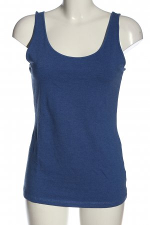 H&M Basic Long Top blue casual look