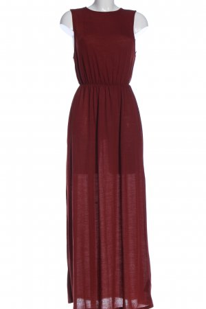 H&M Basic Maxikleid rot Casual-Look