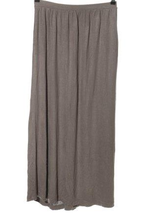 H&M Basic Jupe longue gris clair style décontracté