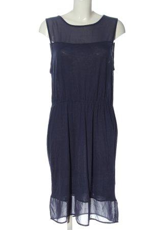 H&M Basic Midikleid blau Casual-Look