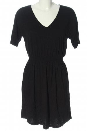 H&M Basic Minikleid schwarz Casual-Look