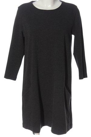 H&M Basic Minikleid hellgrau schlichter Stil