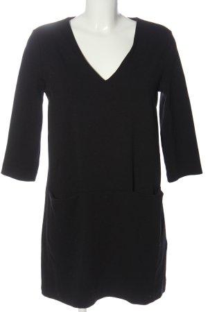 H&M Basic Minikleid schwarz Business-Look
