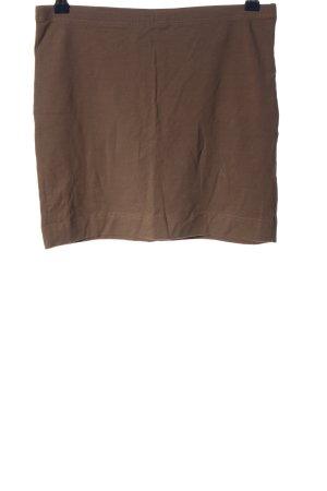H&M Basic Minirock braun Casual-Look