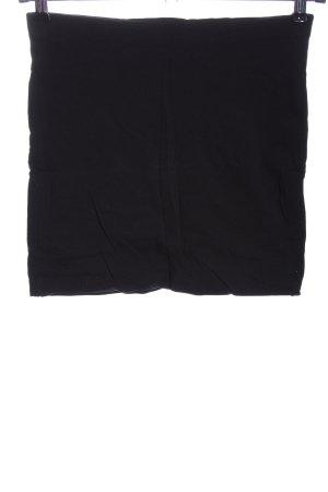 H&M Basic Minirock schwarz Casual-Look