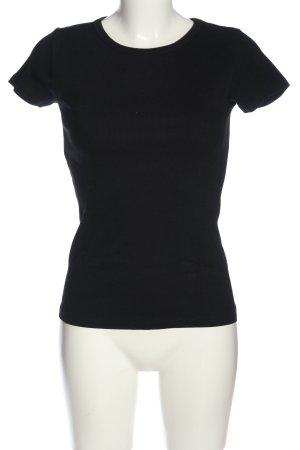 H&M Basic Débardeur marcel noir style décontracté