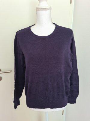 H&M basic Oberteil Pullover Gr. L in dunkel blau