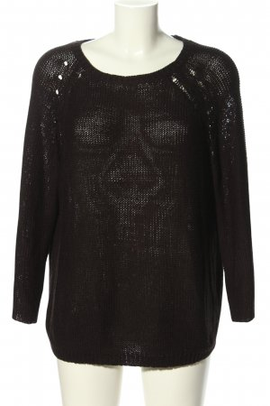 H&M Basic Oversized Sweater black casual look