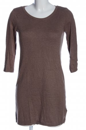 H&M Basic Sweater Dress brown casual look
