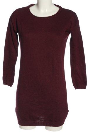 H&M Basic Pulloverkleid rot Casual-Look