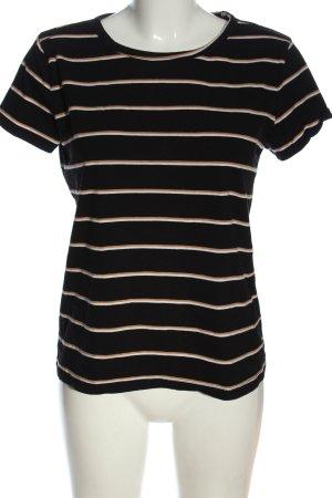 H&M Basic Ringelshirt Streifenmuster Casual-Look