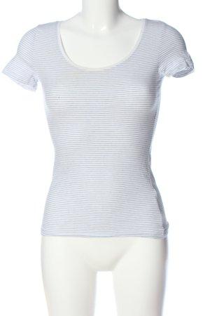 H&M Basic Gestreept shirt wit-zwart volledige print casual uitstraling