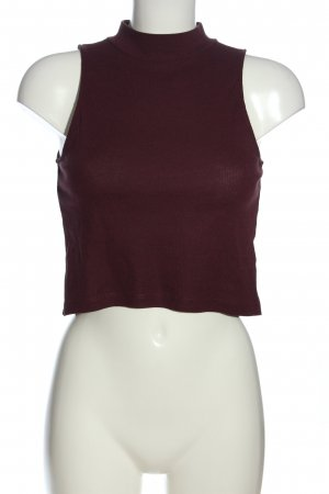H&M Basic Neckholder Top brown casual look