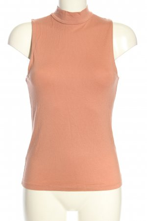 H&M Basic Neckholder Top nude casual look