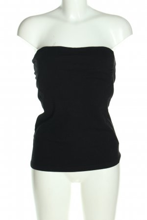 H&M Basic Backless Top black casual look