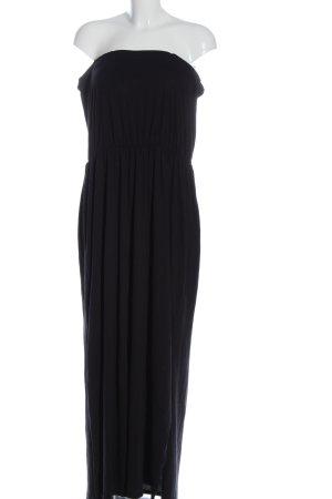 H&M Basic Vestido strapless negro look casual