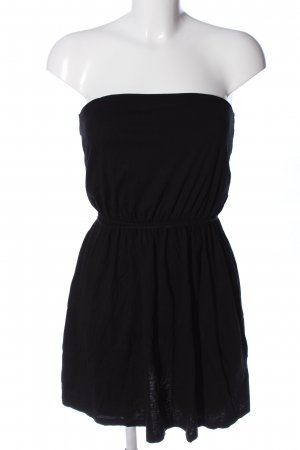 H&M Basic Off-The-Shoulder Dress black casual look