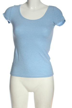 H&M Basic-Shirt blau Casual-Look