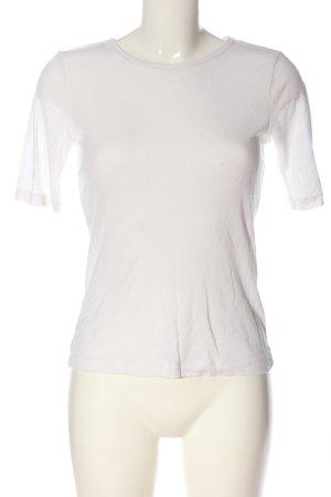H&M Basic-Shirt weiß Casual-Look