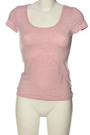 H&M Basic-Shirt pink Casual-Look