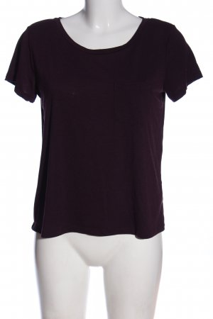 H&M Basic-Shirt rot Casual-Look
