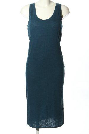 H&M Basic Shirtkleid türkis Casual-Look