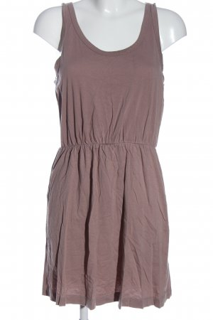H&M Basic Sommerkleid braun Casual-Look