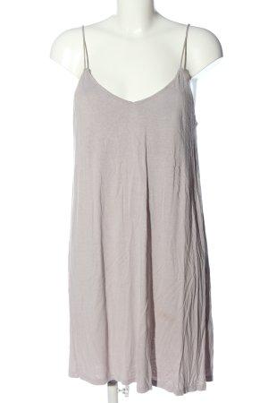 H&M Basic Sommerkleid hellgrau Casual-Look