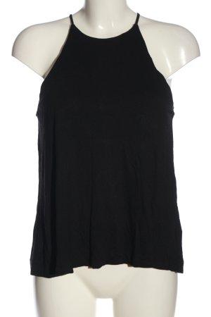 H&M Basic Top de tirantes finos negro look casual