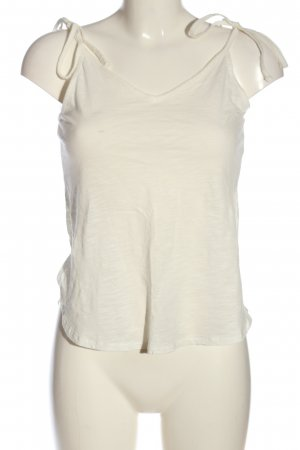 H&M Basic Top con bretelline bianco stile casual
