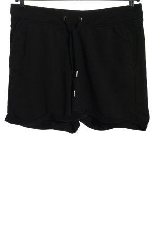 H&M Basic Sport Shorts black casual look