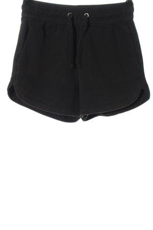 H&M Basic Szorty sportowe czarny W stylu casual
