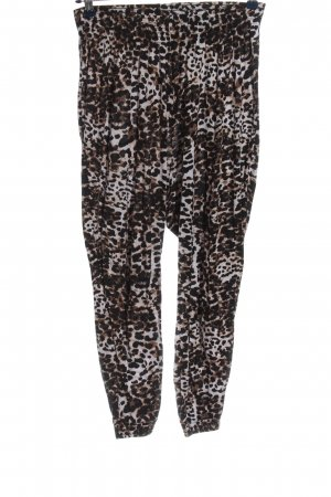 H&M Basic Stoffhose Allover-Druck Casual-Look
