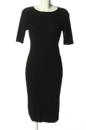 H&M Basic Abito elasticizzato nero elegante