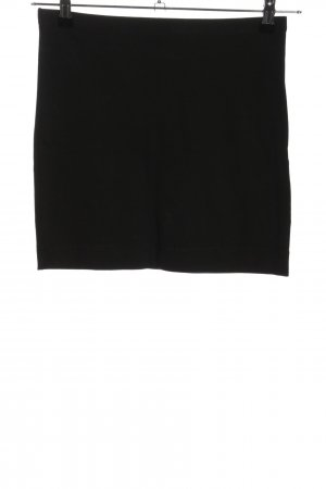 H&M Basic Stretch rok zwart casual uitstraling