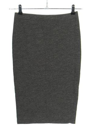 H&M Basic Jupe stretch gris clair moucheté style décontracté