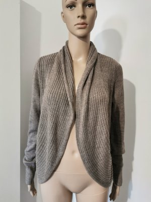 H&M Coarse Knitted Jacket camel-beige