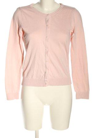H&M Basic Strickjacke pink Casual-Look