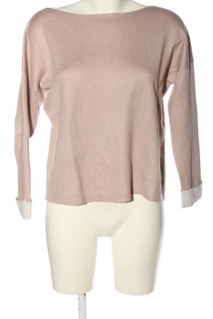 H&M Basic Strickpullover pink Casual-Look