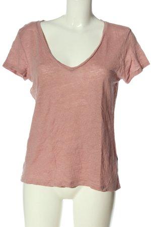 H&M Basic Strickshirt pink meliert Casual-Look