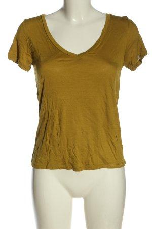 H&M Basic Strickshirt blassgelb Elegant