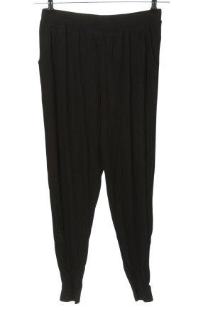 H&M Basic Sweathose schwarz Casual-Look